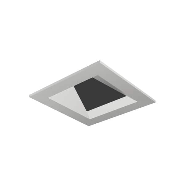 Tech Lighting En3sfw W Entra 3 Square Flanged Wall Wash Recessed Trim Overstock 27080701