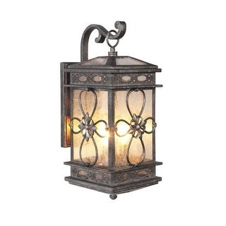 Craftmade Z2314 Edinburgh 3 Light Outdoor Wall Sconce - 9 Inches Wide