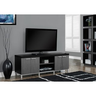 Monarch 2590 Black Grey 60nch Tv Stand