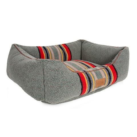 Pendleton Vintage Camp Kuddler Dog Bed