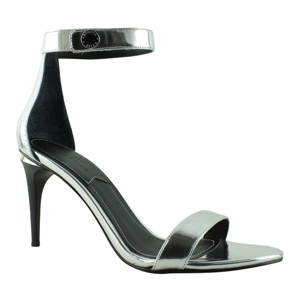 0a63a3c2870f Shop KENDALL + KYLIE Womens Silver Sandal Sandals Size 7.5 New ...