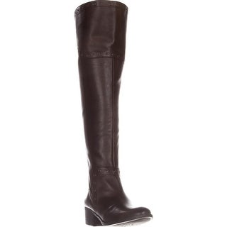 Vince Camuto Womens Bestan Almond Toe Over Knee Fashion Boots