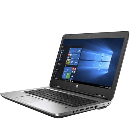 "HP 645G2 AMD Pro A6-8500 1.6GHz 4GB 500GB 14"" Win 10 Pro Refurbished"