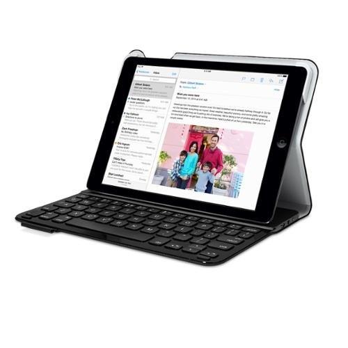Logitech Ultrathin Folio Keyboard Case for iPad Air - Black (Will not fit iPad A