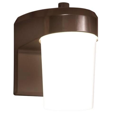 Halo FE0650LPC ALL-PRO LED Jelly Jar Exterior Light, 9 Watts, 120 Volts