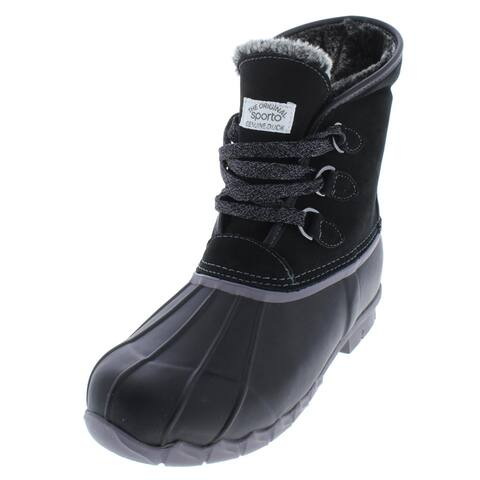 Sporto Womens Defrost Pac Boots Suede Waterproof