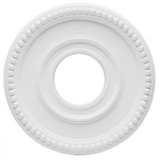 """Westinghouse 77762 Colonnade Medallion, 12-3/8"""", White