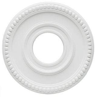 """Westinghouse 77762 Colonnade Medallion, 12-3/8"""", White"""