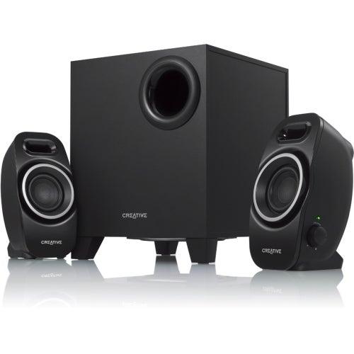 Creative 51MF0420AA002 Creative SBS Series A250 2.1 Speaker System - 9 W RMS - Black