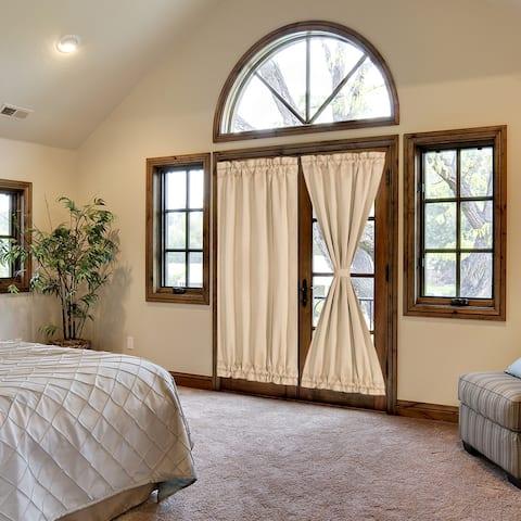 Elegant Room Blackout Curtains Sliding Window Door Side Panel