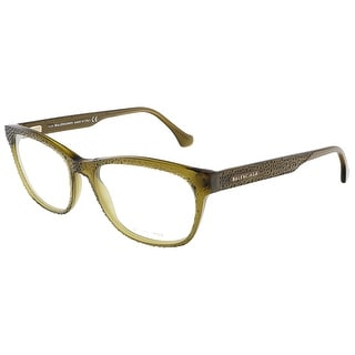Balenciaga BA5037/V 093 Clear Shiny Green Rectangular Opticals