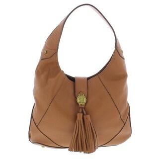 Emma Fox Womens Demeter Hobo Handbag Leather Tassel - LARGE