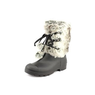 Dirty Laundry Picca Women  Round Toe Canvas Black Winter Boot