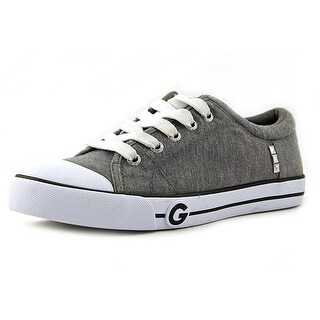 G by Guess Womens OONA Canvas Low Top Lace Up Tennis Shoes