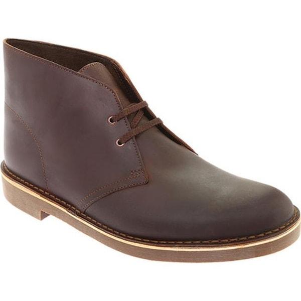 b9e6d504498 Shop Clarks Men's Bushacre 2 Boot Dark Brown Leather - On Sale ...