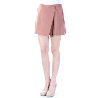 THEORY $245 Womens New 6926 Brown Mini A-Line Wear To Work Skirt 2 B+B