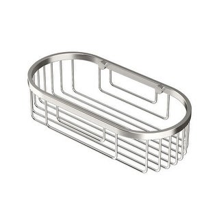 Gatco 1577 10 Inch Oval Shower Basket