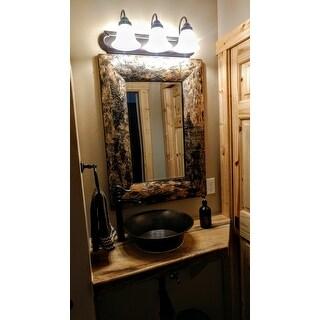 The Gray Barn Jartop Birch Bark Mirror
