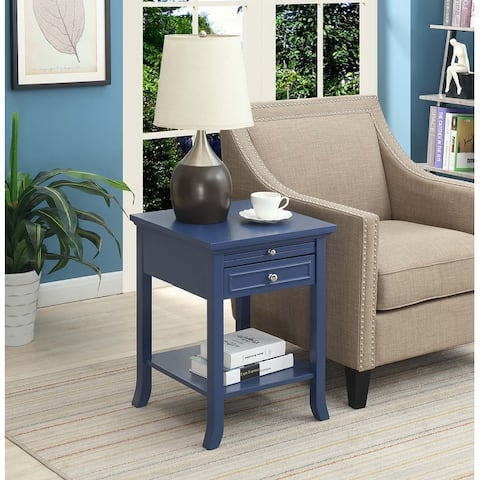 Copper Grove Aubrieta Single-drawer End Table