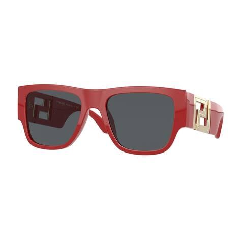 Versase VE4403 534487 57 Red Man Rectangle Sunglasses