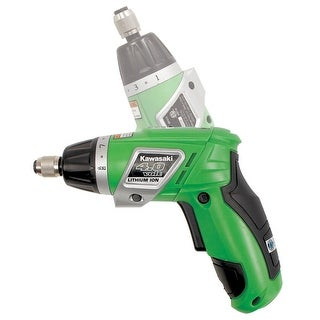 Kawasaki? Heavy Duty 4.0V Dual Angle Lithium Cordless Screwdriver - 840889