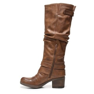 Carlos by Carlos Santana Womens hart Almond Toe Mid-Calf Fashion Boots