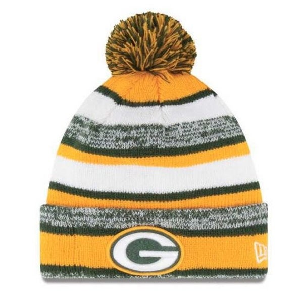 Shop New Era Green Bay Packers NFL Stocking Knit Hat Winter Beanie On Field  11008750 - Free Shipping On Orders Over  45 - Overstock - 19113830 5db26bcff5d