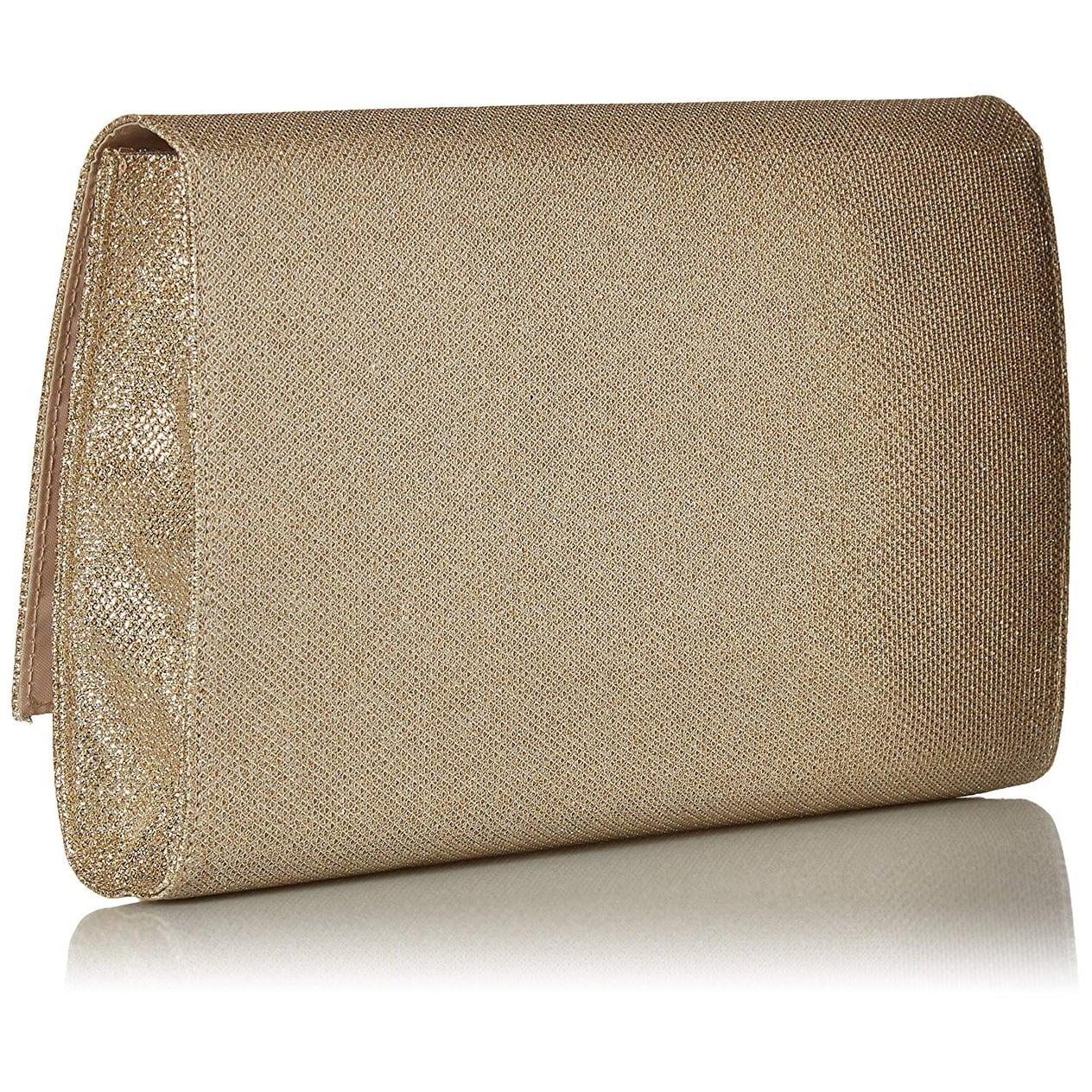 Jessica McClintock Nora Womens Envelope Clutch Evening Bag