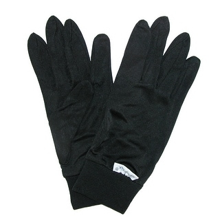 Terramar Thermasilk Silk Glove Liners - Black