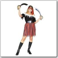 Pirate Lady Costume - Size Adult