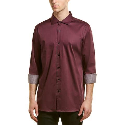 Karl Lagerfeld Swirl Print Woven Shirt