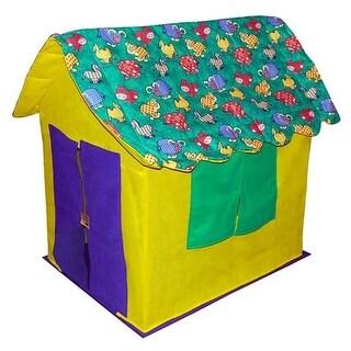 Bazoongi KC-SAC Stuffed Animal Cottage Playhouse
