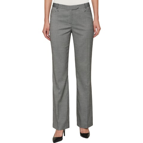 Tommy Hilfiger Womens Trouser Pants Striped One Pocket