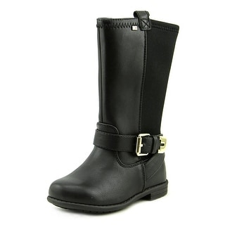Tommy Hilfiger Andrea Neoprene Youth Round Toe Synthetic Mid Calf Boot