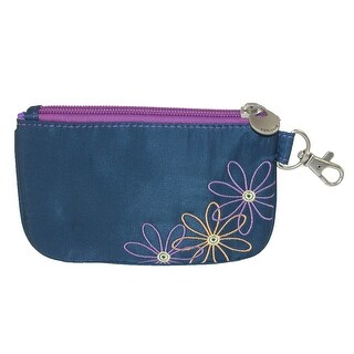 Travelon Women's Daisy RFID Blocking Card Case Wallet - One Size