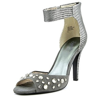Seychelles Womens Elevate Evening Heels Metallic Leather - 7 medium (b,m)