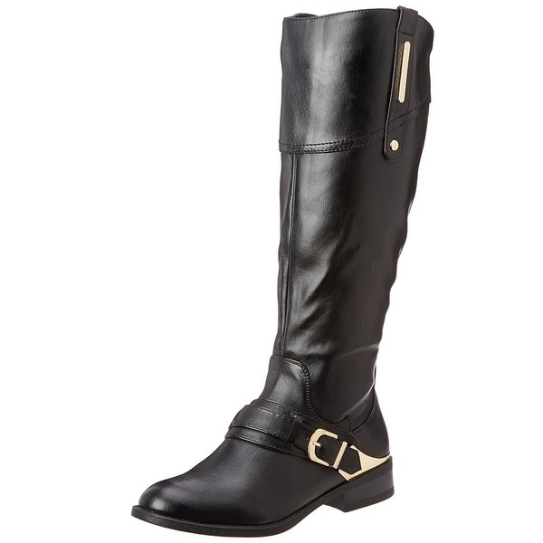 White Mountain Womens League Almond Toe Mid-Calf Fashion Boots