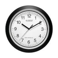 La Crosse WT-3129 12 in. Black Wall Clock