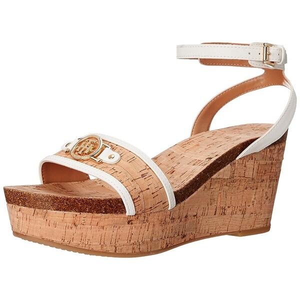 Tommy Hilfiger Womens Hesley Open Toe Casual Platform Sandals