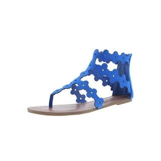 Carlos by Carlos Santana Womens Finesse Gladiator Sandals Thong Strappy
