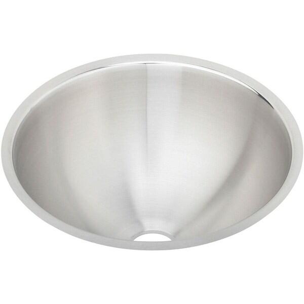 "Elkay ELUH12 Mystic 14-3/8"" Undermount Bathroom Sink with Sound Guard Technology"