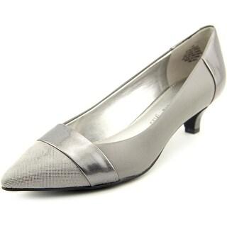 Anne Klein AK McKinley Pointed Toe Leather Heels