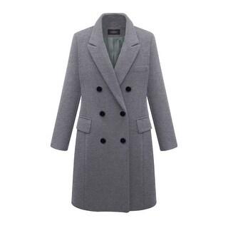 Link to Large Size Windbreaker Women's Long Woolen Coat Similar Items in Women's Outerwear
