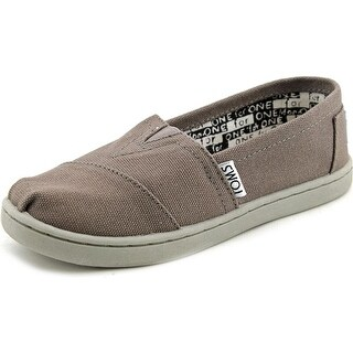 Toms Classic Round Toe Canvas Sneakers