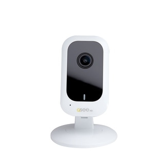 Q-See Mini 3MP WiFi Security Camera with 16GB SD Card - White