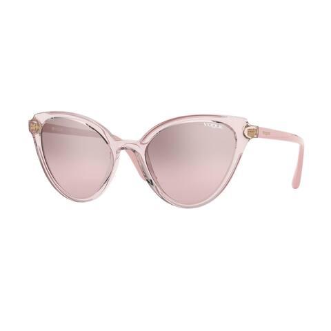 Vogue VO5294S 27638Z 55 Transparent Pink/pink Woman Phantos Sunglasses