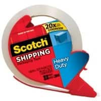 "Scotch 3850S-RD Heavy-Duty Tape with Dispenser, 1.88"" x 38.2 Yards"