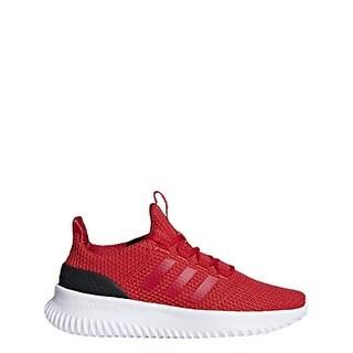 Adidas Unisex-Kid's Cloudfoam Ultimate Running Shoe, Red/Scarlet/Black, 4