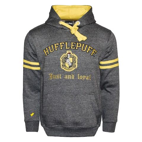 Harry Potter Unisex Hogwarts Hufflepuff Hoodie - Hooded Sweatshirt