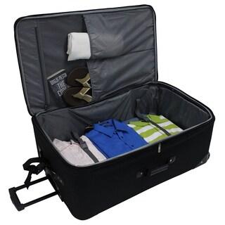 Traveler's Choice Amsterdam 4-Piece Luggage Set - Grey